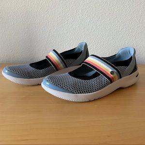 Bzees Athena Mary Janes Comfort Shoes Washable 7.5